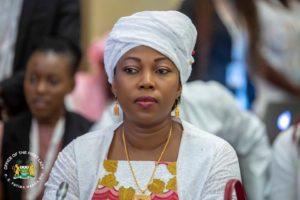 Mrs.Fatima Maada Bio First Lady of Sierra Leone