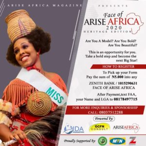 Arise Africa Pageant
