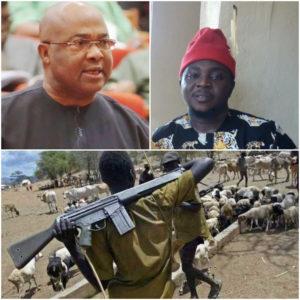 Gov.Hope Uzodinma ,Nze Aroja On Fulani Herdsmen Issue