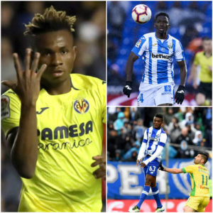 Samuel Chukwueze ,Kenneth Omeruo and Chidozie Awaziem To Clash tonight