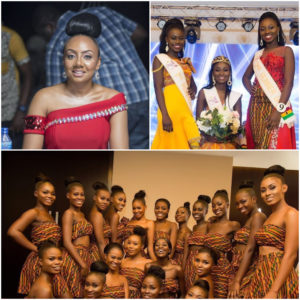 Miss Ghana C.E.O Inna Patty,Winners of the 2019 Miss Ghana ,and pictures of contestants of the pageant