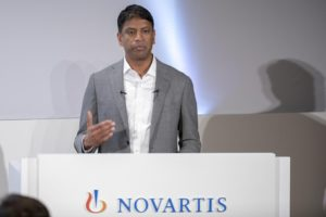 Novartis, along with other pharmaceutical companies, is working to produce a coronavirus cure.