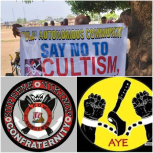 Orji Community in Imo State Rises against Cultists as Vikings and Black Axe Confraternity Clash.