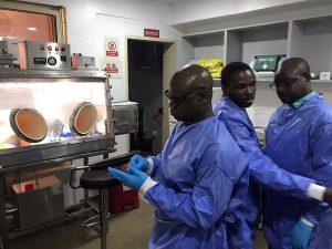 Dr Nnaemeka Ndodo of NCDC Nigeria