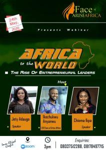 Arise Africa Entrepreneurs Class