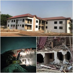Nigerias Diplomatic property demolished in Ghana