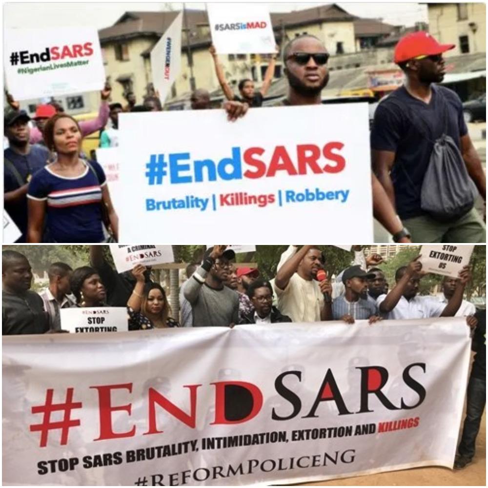 Amnesty International Reignites the 'End SARS' Campaign in Nigeria.