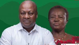 Mahama and Naana Opoku Agyemang
